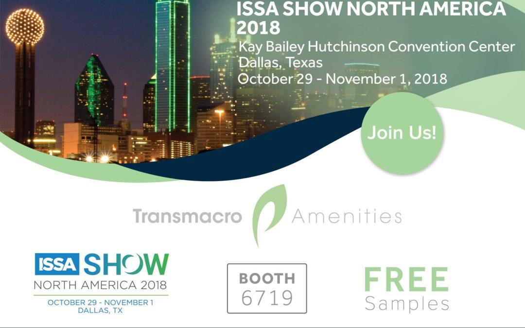ISSA Show 2018 Dallas flyer image