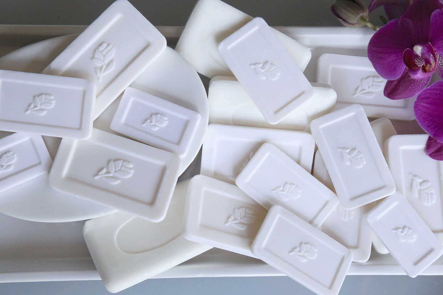Transmacro Amenities Unwrapped Bar Soap